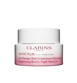 CLARINS WHITE PLUS BRIGHTENING REVIVE NIGHT MASK-GEL 50ML