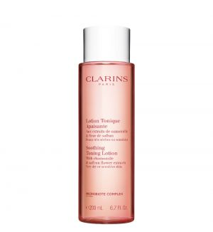 CLARINS SOOTHING TONING LOTION VERY DRY OR SENSITIVE SKIN 200ML