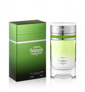 FRANCK OLIVIER GREEN FRANCK EDT (M) 75ML