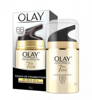 OLAY TOTAL EFFECTS 7 IN ONE TOUCH OF FOUNDATION BB CREME SPF 15 50G
