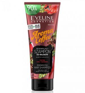 EVELINE FOOD FOR HAIR AROMA COFFEE HAIR SHAMPOO WEAK HAIR 250ML
