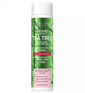 EVELINE BOTANIC EXPERT TEA TREE PURIFYING & MATTIFYING ANTIBACTERIAL TONIC 225ML