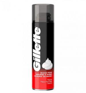GILLETTE CLASSIC SHAVING FOAM REGULAR 200ML