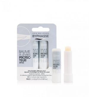 BYPHASSE PROTECTION LIP-BALM SPF30 (2X4.8G)