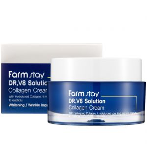 FARM STAY DR.V8 SOLUTION COLLAGEN CREAM 50ML