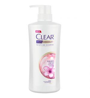 CLEAR WOMEN ANTI-DANDRUFF SAKURA FRESH SHAMPOO 480ML