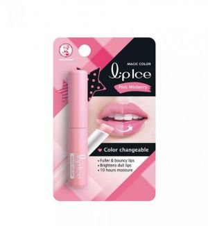 LIPICE MAGIC COLOR COLOR CHANGEABLE LIP MOISTURIZER PINK MIXBERRY