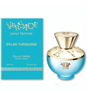 VERSACE POUR FEMME DYLAN TURQUOISE EDT 100ML